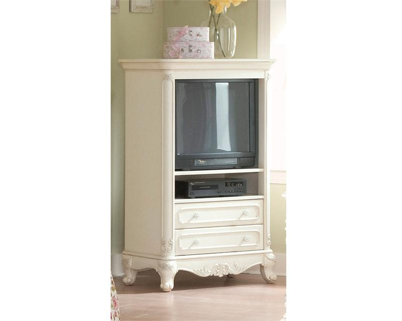 1386 He Cinderella White Bedroom Collection