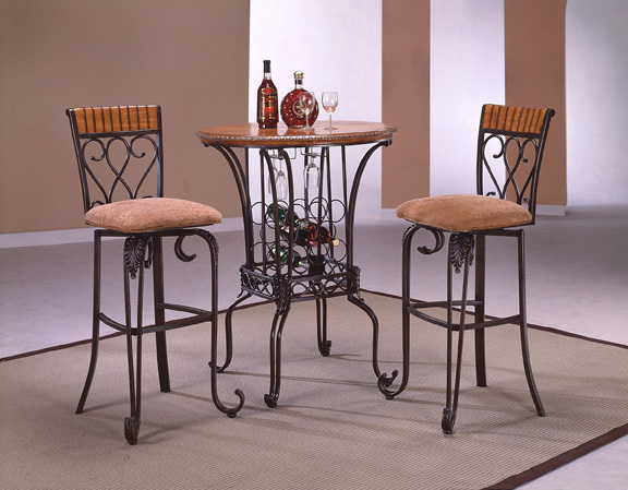 CM Alyssa Bar Table Chairs - Alyssa dining room set
