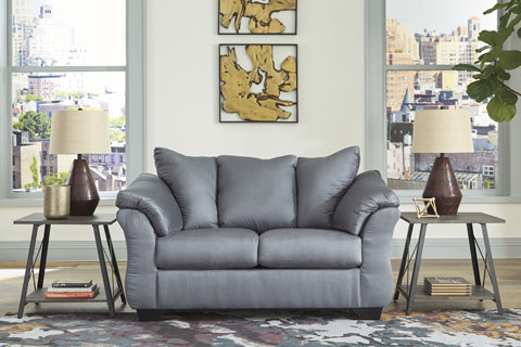 75009 Sd Darcy Steel Living Room Collection