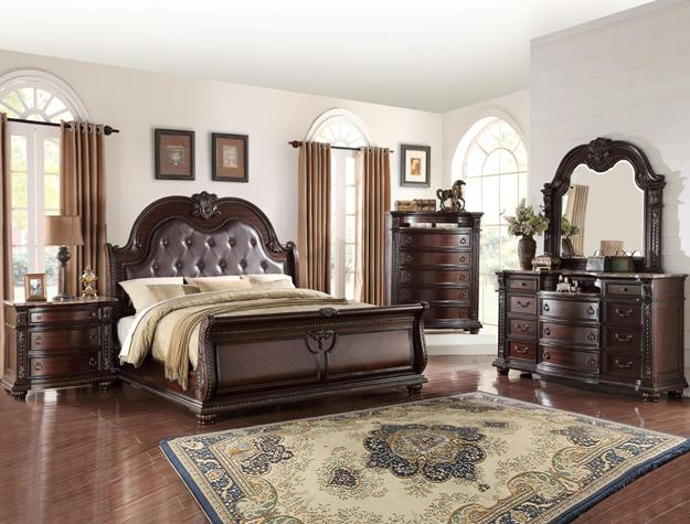 B1600 CM Stanley Sleigh Bedroom Collection Sale. B1600 CM Stanley Sleigh Bedroom Collection