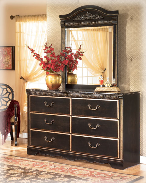 b175 sd coal creek mansion mdf bedroom collection sale