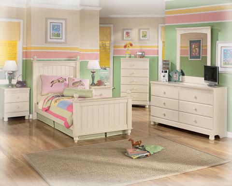 B213 SD Cottage Retreat MDF Youth Bedroom Set