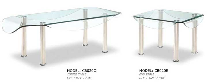Cb020c Gl Coffee Table Collection