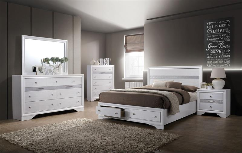 CM7552-FOA Chrissy Storage Bedroom Collection Sale