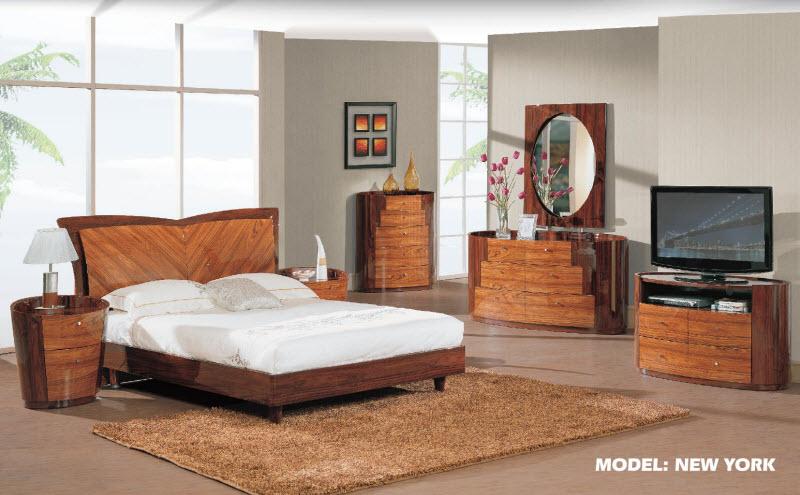 New York Kokuten Gl Bedroom Collection