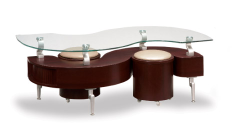 T288mc Gl Mahogany Coffee Table Collection